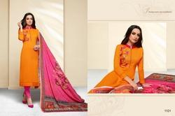 3/4 Sleeve Masakali Salwar Suit Fabric