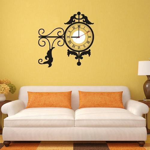 Home Decorative Items - Wall Clock Stickers Wholesaler from Noida