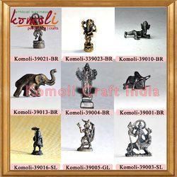 Bronze Miniature Ganesha Buddha Statues