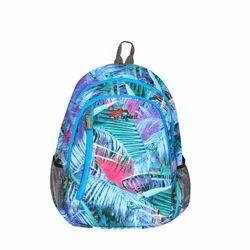 Sky Blue Color Spring School Bag