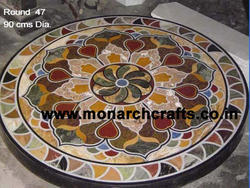 Coffee Marble Table Top