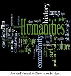 Arts And Humanities Dissertation Services