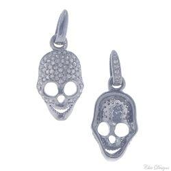 Diamond Skull Pendant Jewelry