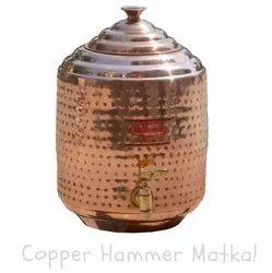 Copper King Hammered Copper Pot Matka