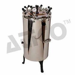 Vertical Autoclave Double Drum(S.S)