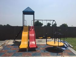Outdoor Playground Slides