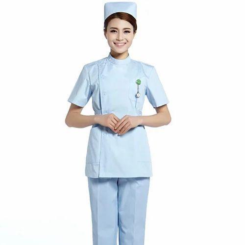 Doesn't asian style nurse scrubs