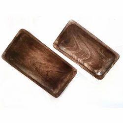 Rectangular Wooden Platters