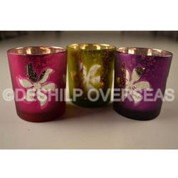 Colourful Candle Votive Holder