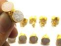 Peru Chalcedony Earrings