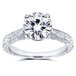 AAA 1 Carat Certified Diamond Ring