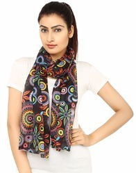 Printed Cotton Women's Scarf
