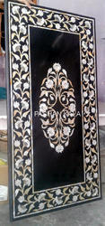 Mother of Pearl Marble Inlay Table Tops