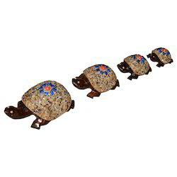 Wooden Chamki Tortoise Set