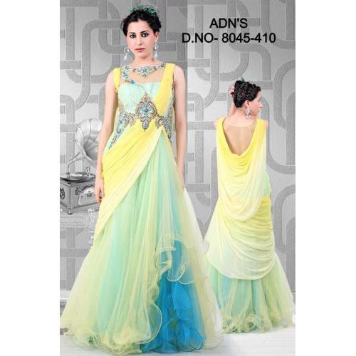 ba9fb889dc05 Fancy Party Wear Gowns - Fancy Party Wear Gown Manufacturer from Mumbai