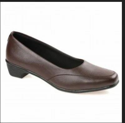 61a8cb2e849 Paragon Solea Plus Womens Brown Slip On Shoes   Womens Brown Flats ...