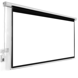 Suvira Prime Motorized Projection Screen American Mw Size- 6x8 Feet