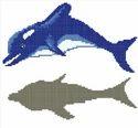 Dolphin Glass Mosaics