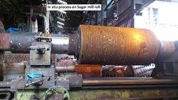 Insitu Coating On Sugar Mill Roll