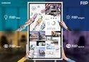 Samsung Flip Chart Navigation