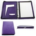 Leather Ring Binder For Women's