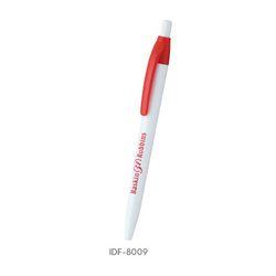 White Plastic Ballpoint Pen