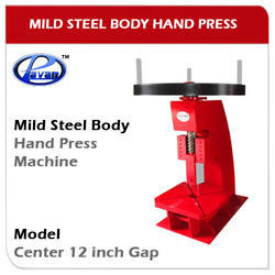 Hand Press Mild Steel Body Model Center 12 Inch Gap