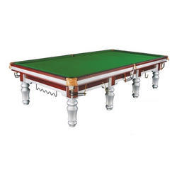 Snooker Table In Sliver Legs