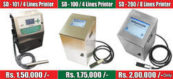 SD 100 Batch Coding Printer