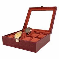 08  Red Wine Watch Box