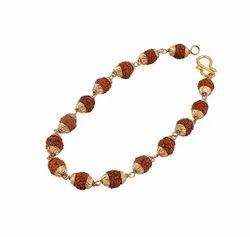 100% Original 5 face Rudraksha Bracelet