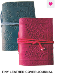 Journal Tiny Leather Cover