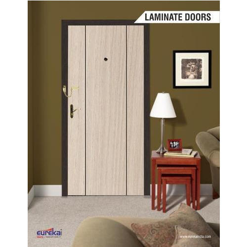 White Wooden Laminate Door