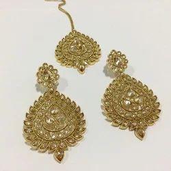 Earring Tikka Set
