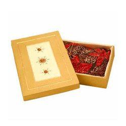 Saree Printed Packaging Box