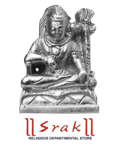 Parad Shiv Murti (l x w x h) 6 cm x 4 cm x 6 cm