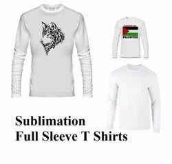 Sublimation Full Sleeve T Shirts