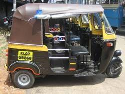 PVC Laminated Auto Rickshaw Hood Fabric