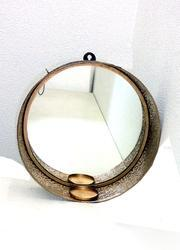 Glass Iron Mirror Frame