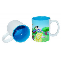 11oz Two-Tone Color Mug Lt. Blue