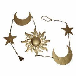 Iron Sun Moon Star Hanging