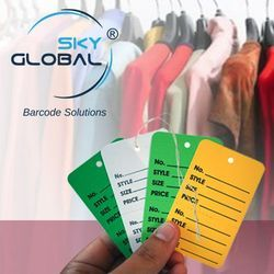 Plain & Customized Barcode Label