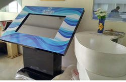 LCD Display Horizontal Touch Screen Kiosk