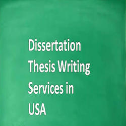 USA Thesis Services