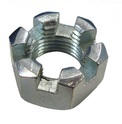Hex Slotted Nut
