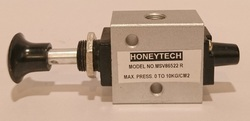 3/2 Push Button Operated Valve