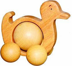 Pushing Duck