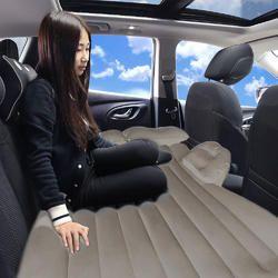 Kawachi Outdoor Inflatable Travel Air Sofa Car Bed Inflatable Mattress Camping Pad Car Rear Seat Sof