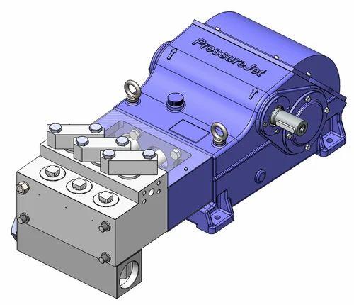 Triplex Plunger Pumps High Pressure Reciprocating Pump
