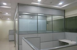 Aluminium Glass Partition Work